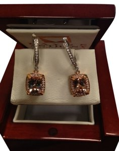 Payne Anthony Kunzite and Diamond Earings