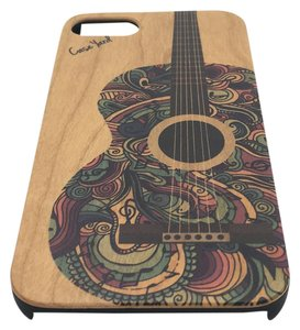 Case Yard NEW Cherry Wood iPhone Case with Colored Guitar, iPhone 6