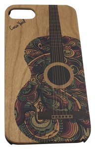 Case Yard NEW Cherry Wood iPhone Case with Colored Guitar, iPhone 6s+