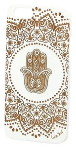 Case Yard NEW Cherry Wood White iPhone Case with Hamsa Hand, iPhone 6