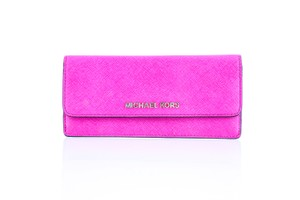 Michael Kors * Michael Kors Jet Set Travel Slim Saffiano Leather Wallet