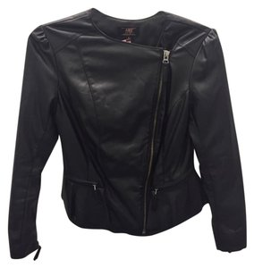A.B.S. by Allen Schwartz Faux Leather Peplum Leather Jacket