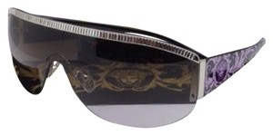 Versace VERSACE Sunglasses VE 4232-B 5011/68 Silver w/Brown Gradient Violet