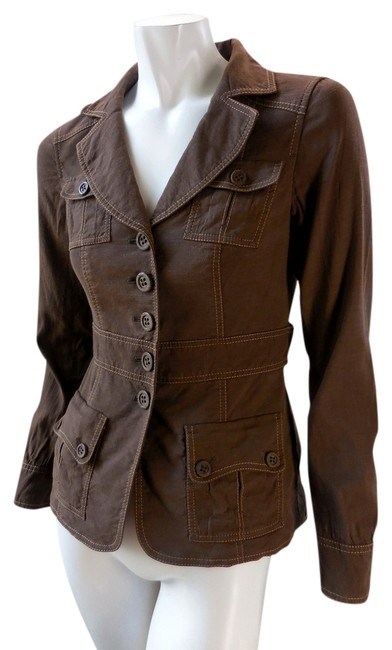 Classiques Entier Lined Military Stretchy Nordstrom Brown Jacket