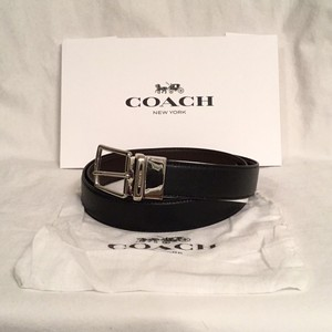 Coach NEW! Men's Reversible Cut To Size Leather Belt F64826