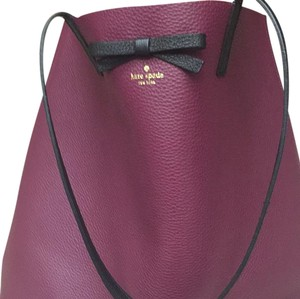Kate Spade Tote in Purple/burgundy