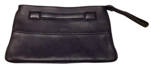 Perlina Black Clutch