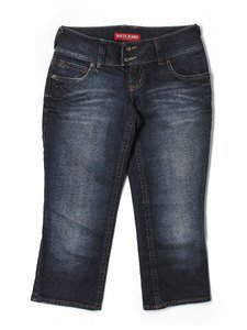 Guess Cropped Capris Denim Sexy Capri/Cropped Denim-Dark Rinse