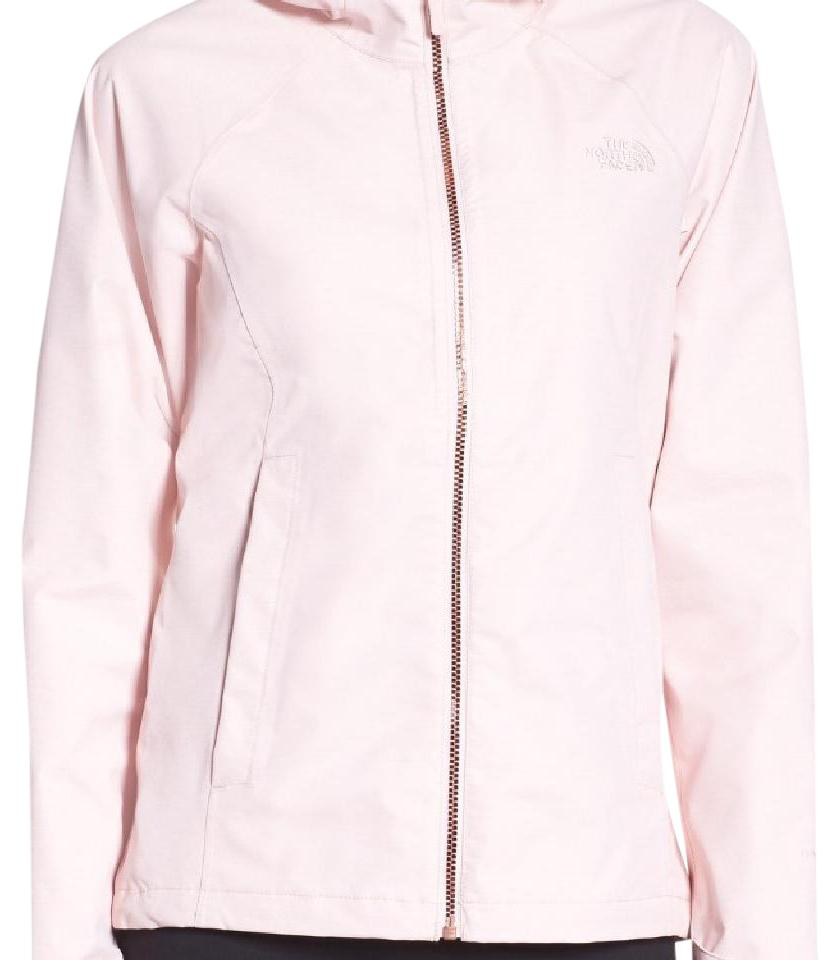 a9b662957 The North Face Light Pink/Rose Gold Zipper Magnolia Waterproof Rain Jacket  Coat Size 4 (S) 30% off retail