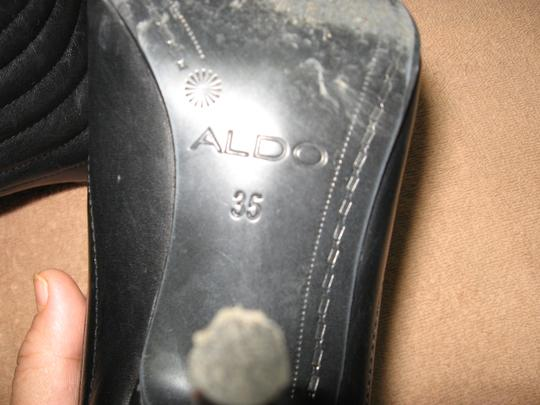 ALDO Stilleto No Odor Black Boots