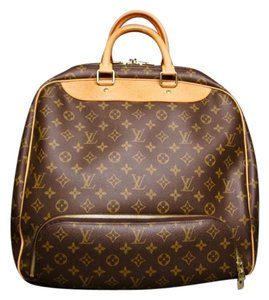 Louis Vuitton Evasion Monogram Canvas Travel Luggage Brown Travel Bag