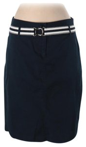 Tracy Evans Work Interview School Pageant Skirt Navy blue