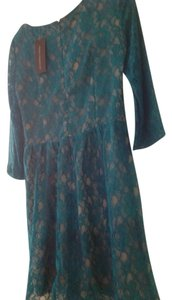 French Connection short dress Teal on Tradesy