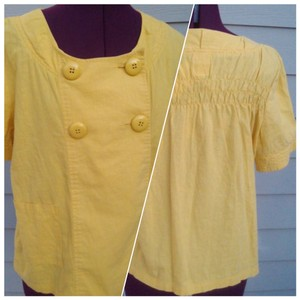 Tulle Mustard Yellow Jacket