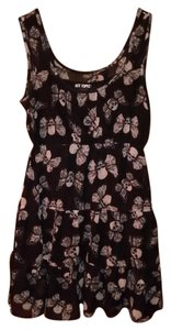 Hot Topic short dress Black Skull A-line V-neck Mini on Tradesy
