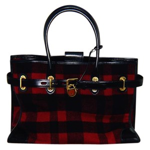 Ralph Lauren Collection Tote in red