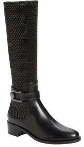 Aquatalia by Marvin K. Waterproof Rain black Boots