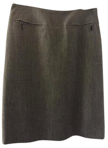 Apostrophe Pencil Warm Skirt Black and grey tweed
