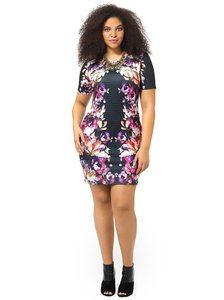 ASOS Gwynnie Bee Plus Size Bodycon Mini Date Dress