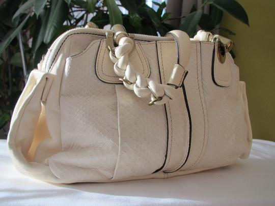 Chloé Satchel in CREAM/MILK