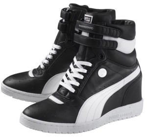 Puma Black and White Athletic