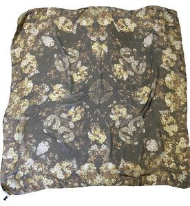 Givenchy SILK SCARF - SQUARED - GOLD SEQUINS PATTERN