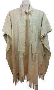 Other Beige Wool Cape