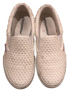 Superga White Flats
