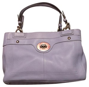 Coach Satchel in Periwinkle