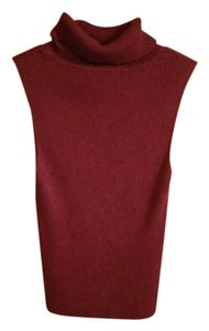PacSun Cropped Fall Fashion Top Maroon