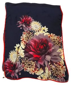 Givenchy LONG SILK SCARF - FLOWERS