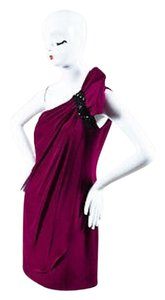 Marchesa Notte Berry Dress