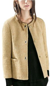 Zara Tweed Lady Classic Tan/Brown Jacket