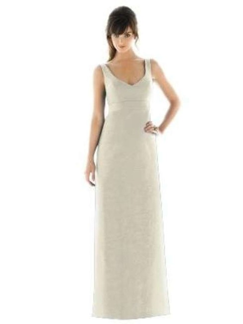 Alfred Sung Full Length V-neck Dress