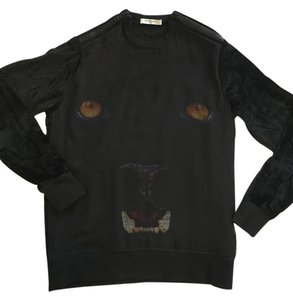 Givenchy Panther Velvet Sweater