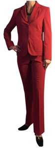 The Limited SZ 8/MEDIUM-THE LIMITED STRETCH RED 2 PIECE PANTS SUIT