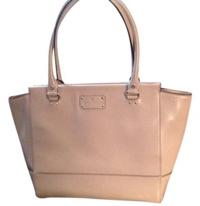 Kate Spade Wellesley Place Kory Gold Hardware Tote in Beige
