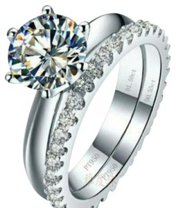 Other 2 band Ring Diamond Wedding Engagement Proposal set