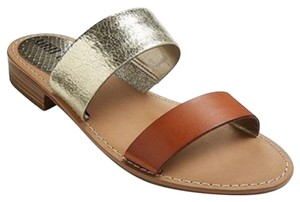 Sam & Libby brown and gold Sandals