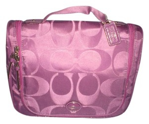 Coach COACH Getaway Travel C Print Cosmetic Makeup Pouch Case large