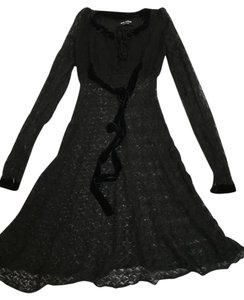 Black Maxi Dress by Junya Watanabe COMME des GARONS