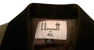 B. Bennett for A.S.L. Sage-y olive green wool pantsuit - Like New!