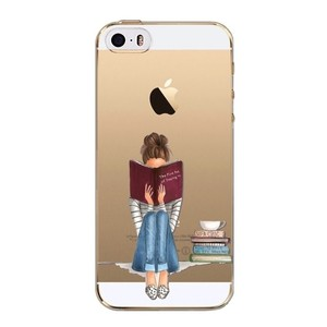 Book Lover Soft TPU Case IPhone 6/6S