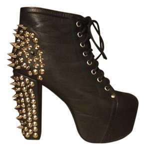 Jeffrey Campbell Studded Black Boots