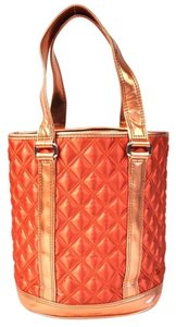 Marc by Marc Jacobs Quited Tote in Orange