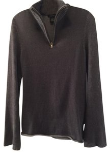 Calvin Klein Ck Ck Zip Flared Sleeves Sweater