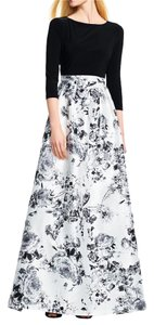Adrianna Papell Floral Ball Gown Dress