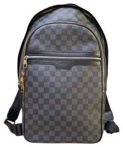 Louis Vuitton Lv Damier Graphite Michael Backpack