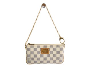Louis Vuitton azur white Clutch