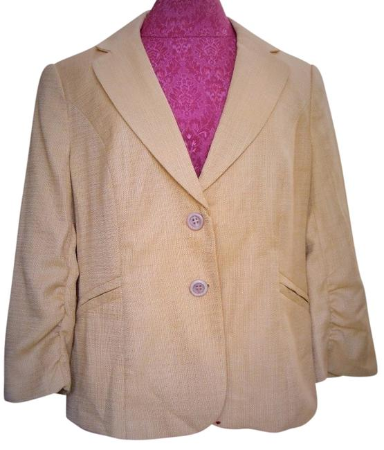The Limited Butter Yellow Blazer